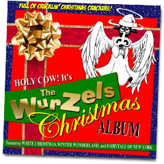 Order your copy of The Wurzels FIRST Christmas album now!